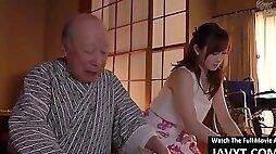 Hot japanese milf nailed