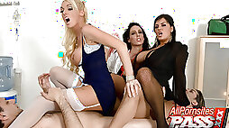 Hospital Orgy Has Never Been This Good!