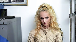 Tiny shoplifter Sadie Hartz has sex to avoid jail
