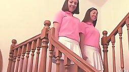 Lesbian Twins