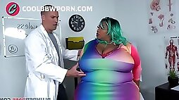Black bbw fucked by doctor