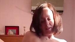 Horny hairy MILF