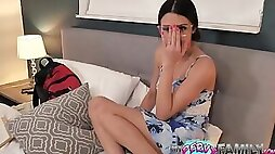 Delinquent Bro Gropes Nerdy Teen Step-Sister - Kylie Rocket