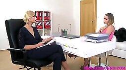 FemaleAgent Lesbian agents sensual seduction