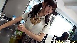 Japanese lez teens finger