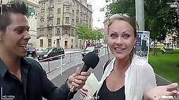 Hottie Travelling European Babe Tina Kay Gets Double-Penetration