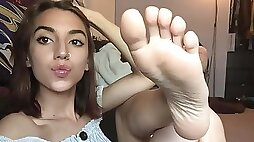 Feet challenge compilation