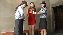 Cinese Girl Jailed & Punished - kinky lesdom porn