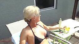 Aged mother seduces Son JOI
