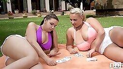 Sofia Lee And Krystal Swift - Big-Bosomed Babes Lesbian Porn