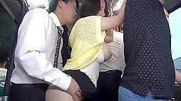 Naughty japanese bus