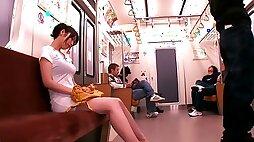 Molester Train Gangbang
