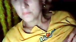 Having fun with a woman  of 40 yrs old  on chatroulette