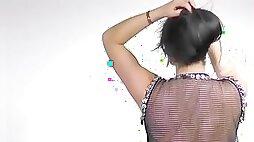 Liela's Belly Dance Strip BTS