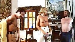 Die Flasche zum Ficken. Classic porn with thrilling orgies