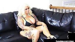 Large titty cracker marylin titties nailed by bbc Rome Major!