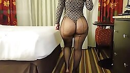 Ms roundcake sexiest phattest booty in fishnets good lawd