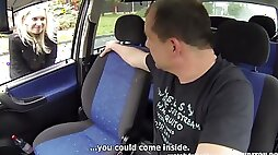 Young Hairy Pregnant Czech Prostitute Fucks With Senior Driver