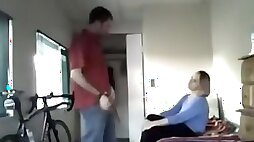 Seducing a mother id like to fuck lady for a quickie on hidden cam in my room