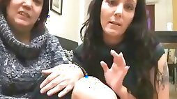 Real spanish mother and daughter lesbian on hidden cam