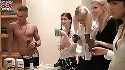 StudentSexParties- Wild College Orgy After An Exam -Scene 5