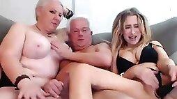 Grandma and Grandpa 3Some Orgy With Niece - amateur sex xozilla porn movies