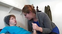 Mom Catches Not Son Jerking