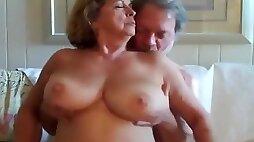 Amazing exclusive fat, missionary, titjob adult scene