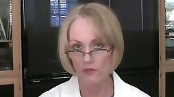 GILF Goes To Her Doctor's Office