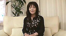 49yr old Granny Izumi Inaba Squirts & Creamed (Uncensored)
