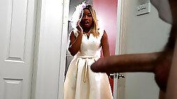 Bubble Butt Bride Free Video With Nina Rivera - BRAZZERS