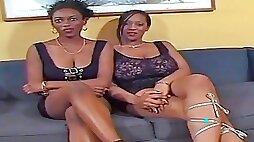 Ebony Damsels getting Romped by Milky Fellow