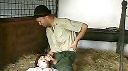 Bbw farm milk maid