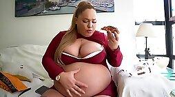 Sexy bbw - Big tits solo fat woman
