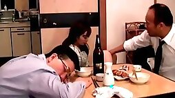 Japanese wife fucked next to husband (full: bit.ly2phtjtr)