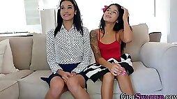 Mexican teen facialized