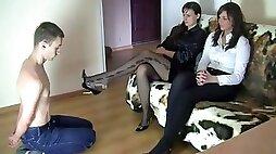 Polish foot fetish