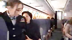 American Stewardess Handjob - Part 5