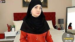 Turkish woman in hijab