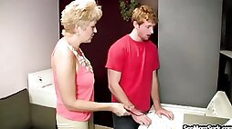 Mrs. Tracy Sucks Off Young Boy