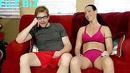 Wenona in mummy wrestles naked with sonny